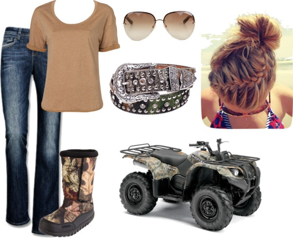 """""""Mudding"""" by morgan-mcnew on Polyvore"""