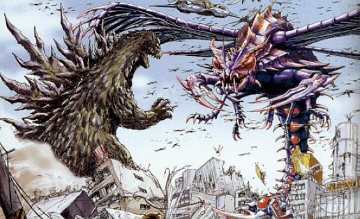 Godzilla vs  MegaguirusGodzilla 2000 Vs Megaguirus