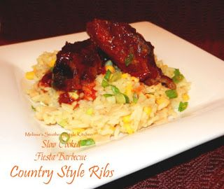 ... Southern Style Kitchen: Slow Cooked Fiesta Barbecue Country Style Ribs