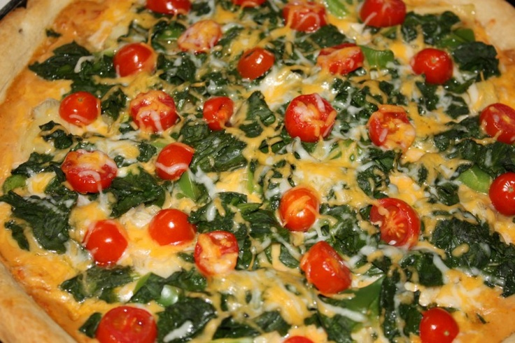 Spinach and Artichoke Pizza | Recipes to try this week | Pinterest