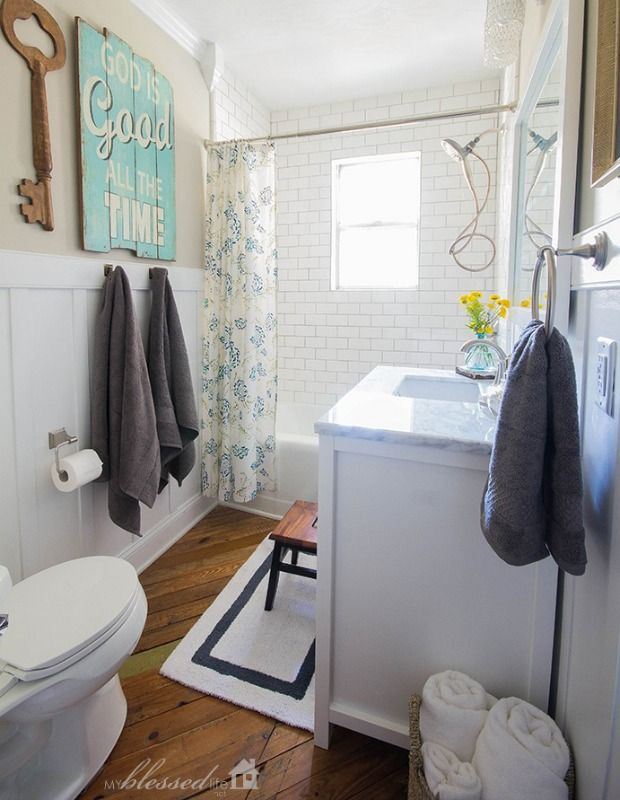 Before And After A Dated Pink Bathroom Gets A Major Refresh