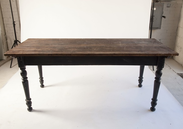 Rustic Dining Room Table With Extension