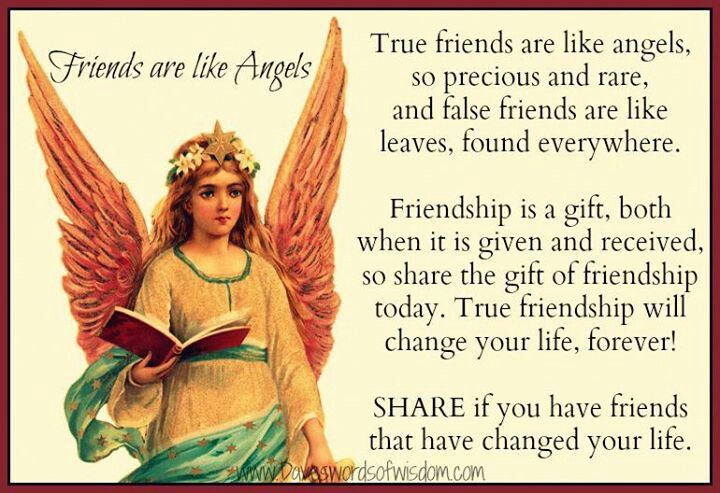 angel sayings for friends - photo #20