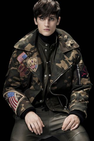 Balmain Fall 2014 Menswear Collection Slideshow on Style.com
