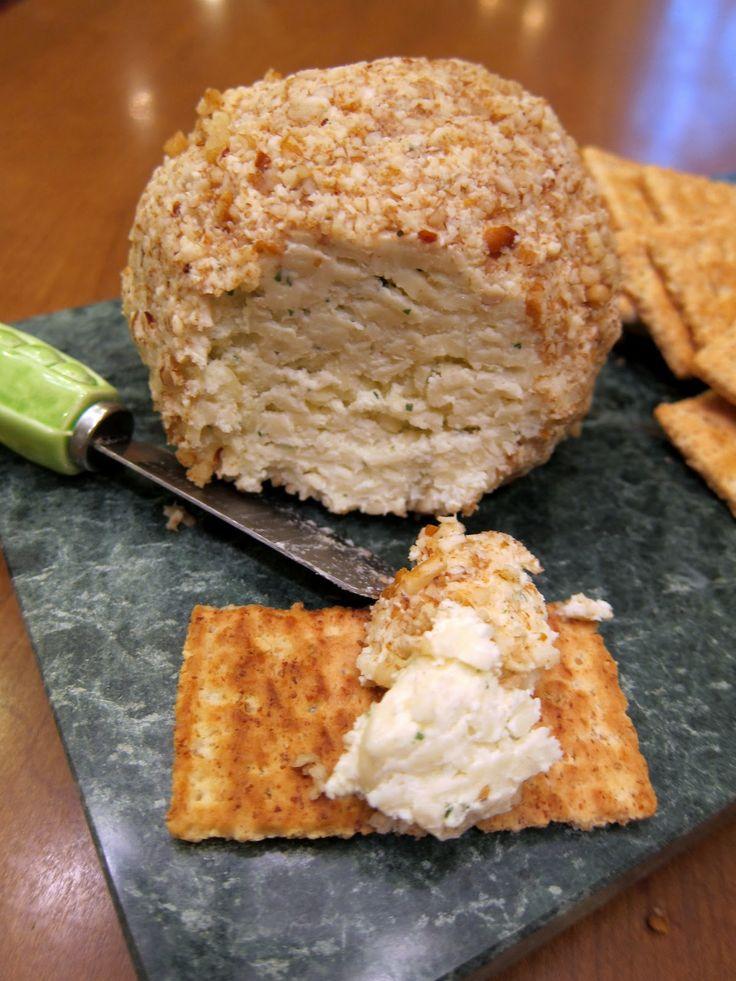 Mozzarella Cheese Ball - What you`ll need: Cream cheese, Ranch ...