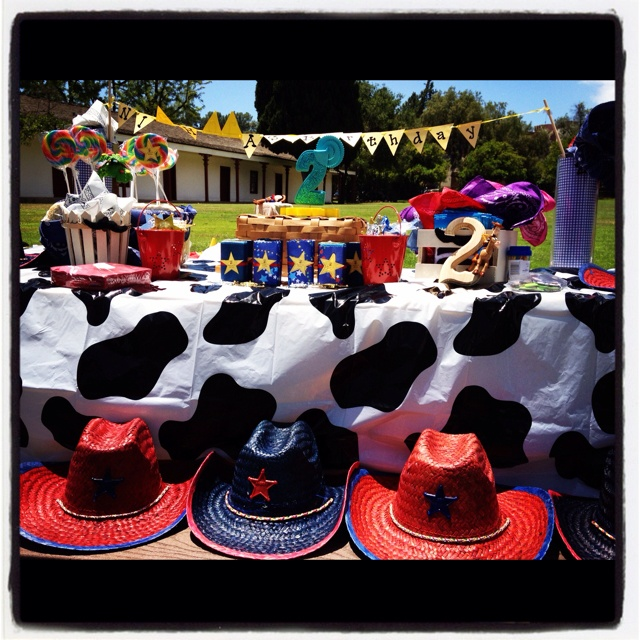 Western birthday party!! By MLC Event Planning