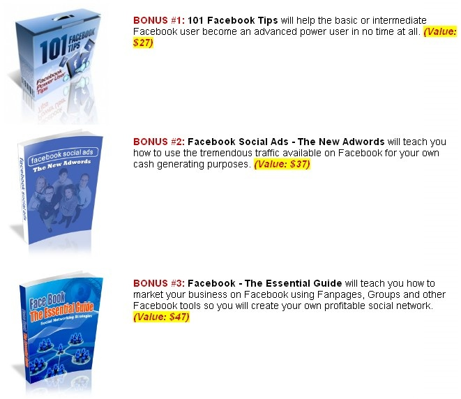 facebook sign in bonus