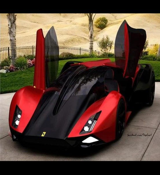 Cool Red And Black Car Cars Pinterest Red Car Police Car - Black cool cars
