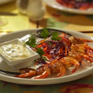 Grilled Shrimp Remoulade From EatingWell: June/July 2005, The ...