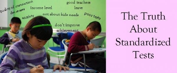 The truth about standardized tests.