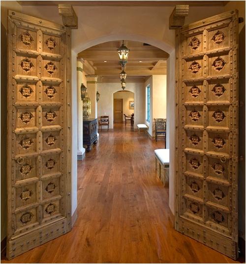 Indian doors my style pinterest for Wooden door designs for indian homes