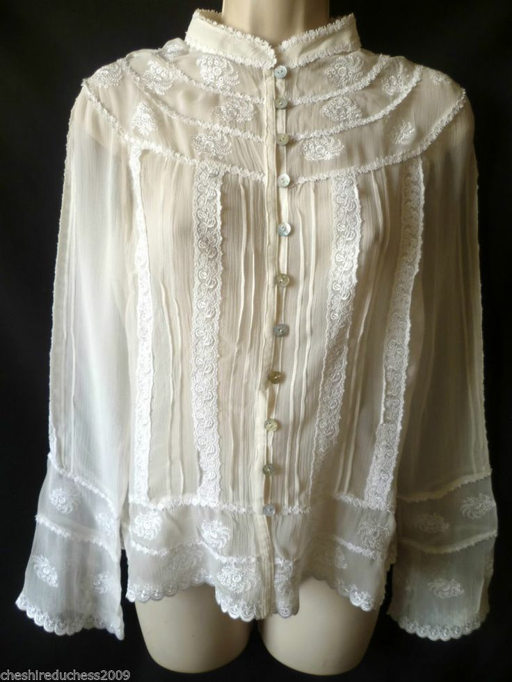 Laura ashley silk blouse women 39 s lace blouses - Laura ashley online ...