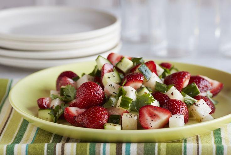 ... tilapia with strawberry pineapple salsa strawberry blueberry tart