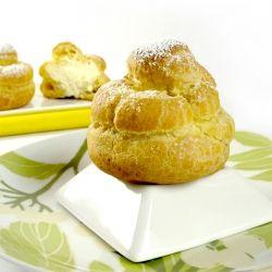 Lemon Mascarpone Cream Puffs | Joe gos | Pinterest
