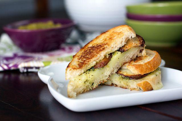 Potato Pesto Grilled Cheese recipe pictures