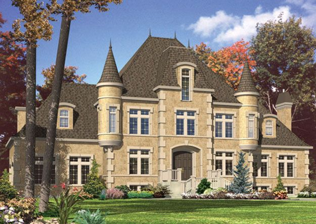 Pin by tricia perez on for the home pinterest for Castle like house plans