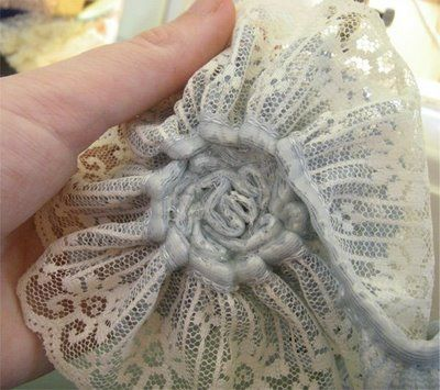 How to make vintage lace flowers~~