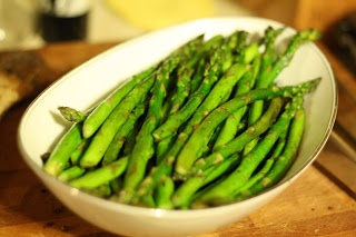 Sauteed Asparagus with Dijon Vinaigrette - this will definitely be my ...