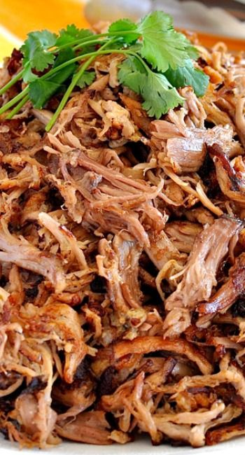 Pork Carnitas (Mexican Slow Cooker Pulled Pork) | Recipe