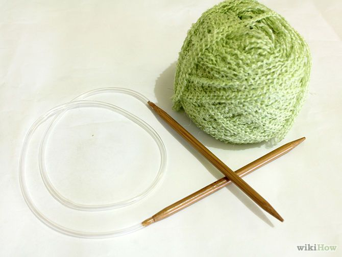 How to Knit on Circular Needles