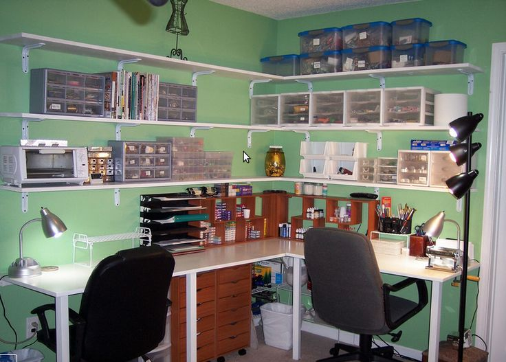 cool craft room set up craft room ideas pinterest