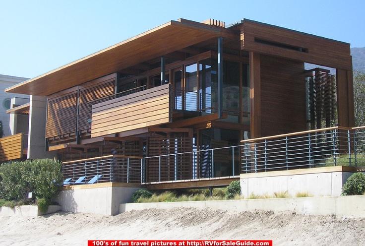 Malibu beach house richard meier and partners