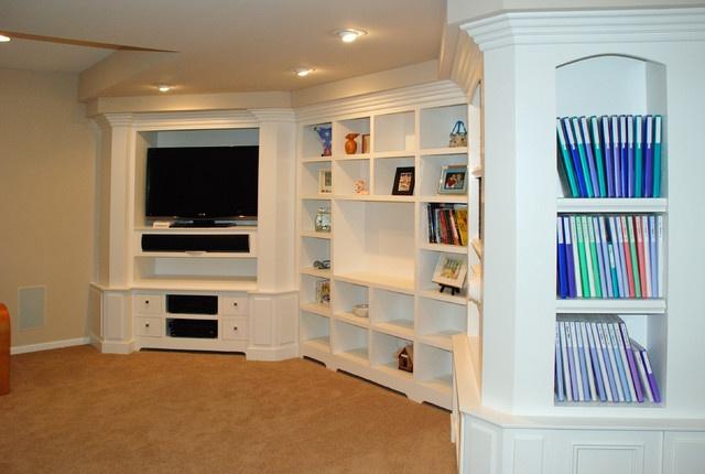 built ins storage finishing basement pinterest