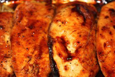 Dressing Carmelized Chicken. Sooooo good and sooooo easy. 3 simple ...
