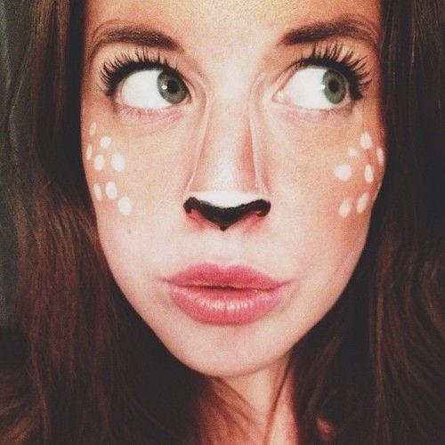 deer halloween makeup - photo #27