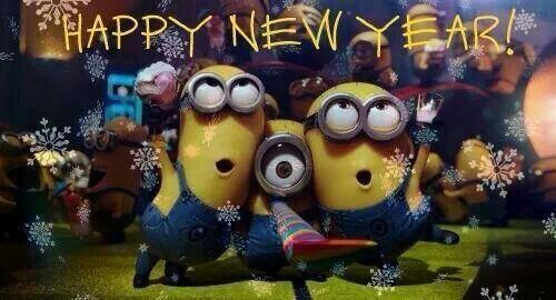 Minions new year | Minions & Cattivissimo me | Pinterest