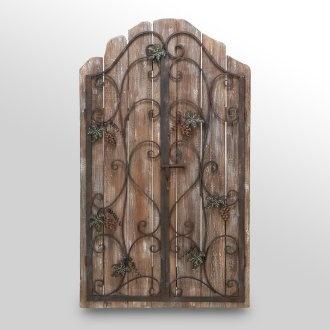Wood & Metal Wall Decor