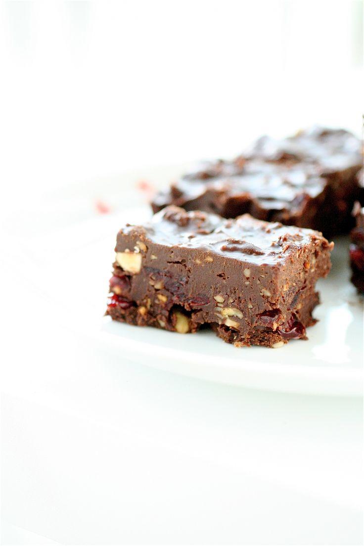 Cherry Hazelnut Fudge | recipes: desserts. | Pinterest