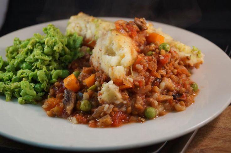 lentil shepherds pie sm | food - healthy eats | Pinterest
