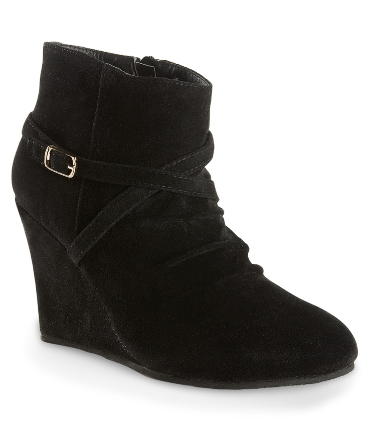 Charles Albert Shoes Wedge Ankle Boot - Aeropostale- my kind of boot