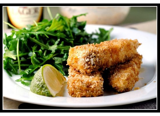 Fancy Fish Sticks Recipe — Dishmaps