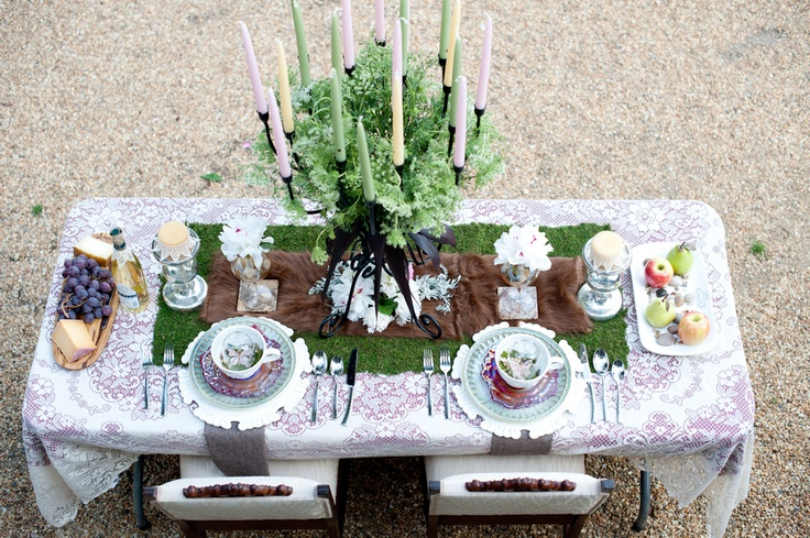 midsummer nights dream tablescapes