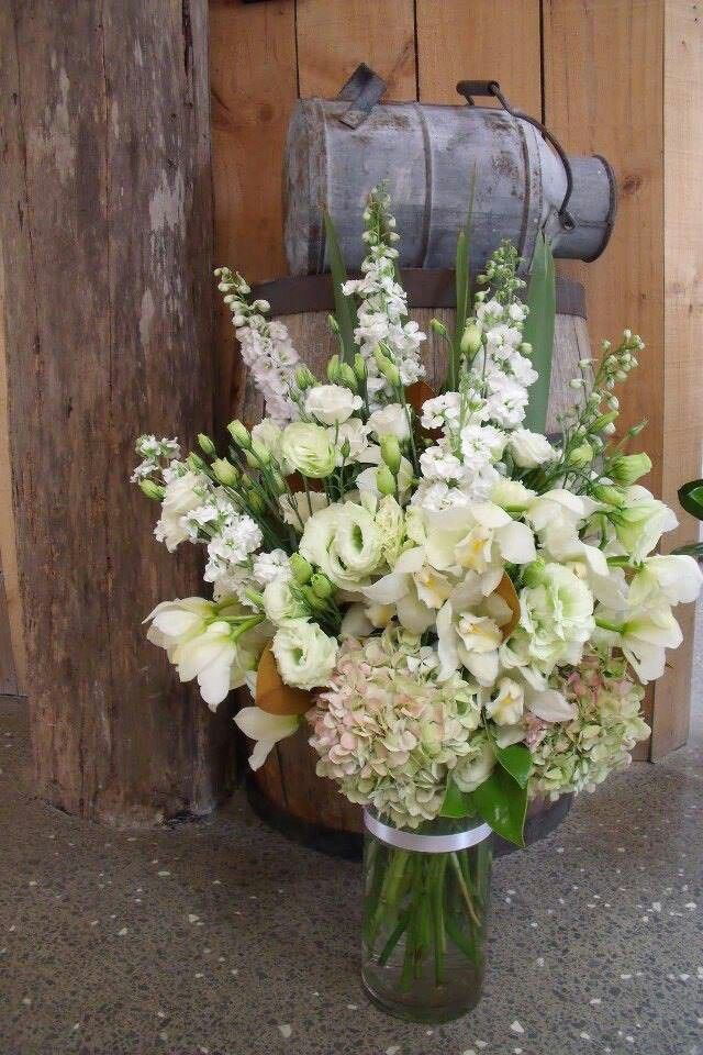 Wedding Flowers Tall Vase Wedding Decor Pinterest