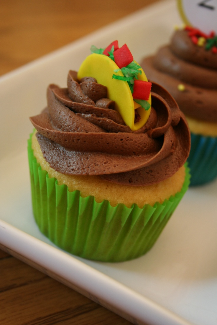 Taco Cupcakes Recipe — Dishmaps