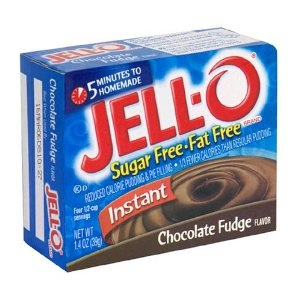 Jell-O Sugar-Free Instant Pudding & Pie Filling, Chocolate Fudge, 1.4 ...