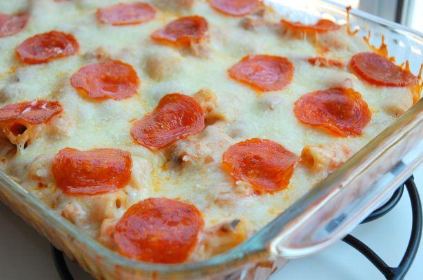 Pepperoni Pizza Casserole | Yummy!! | Pinterest