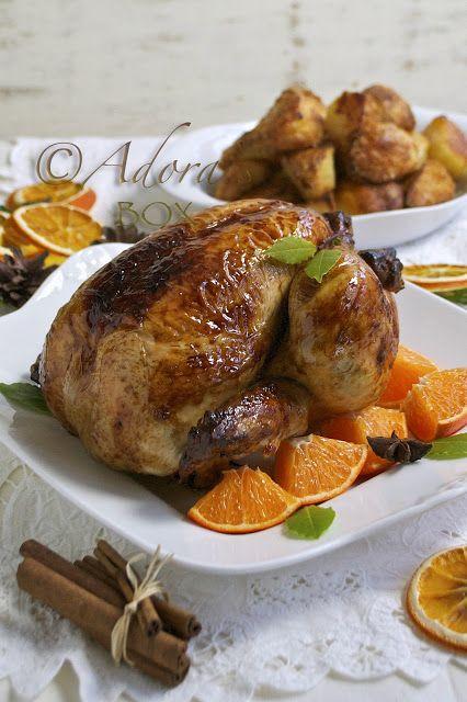 CHRISTMAS SPICED ROAST CHICKEN | CHRISTMAS MENU & FOOD | Pinterest