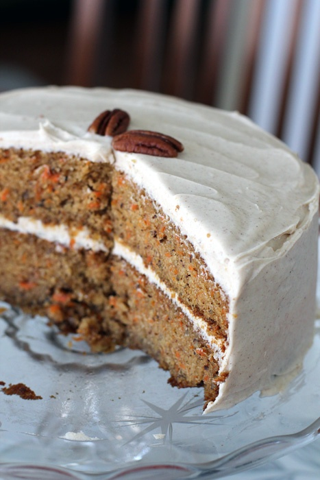 ... on February 3 - Cardamom Carrot Cake with Maple Cream Cheese Frosting