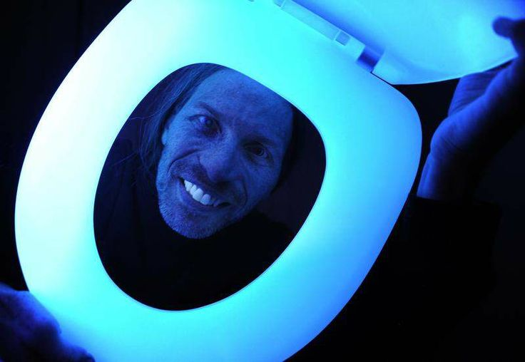 Glow-in-the-dark toilet seat aims for safety, convenience