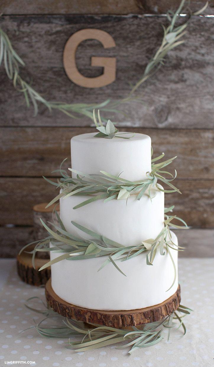 Как сделать бумажные тортики
