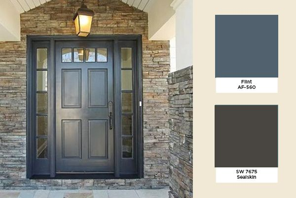 Color ideas for our door and shutters- Exterior Color Trends 2014 ...