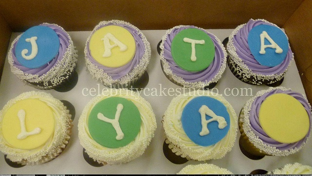 Baby Shower cupcakes Celebrity Cake Studio, celebritycakestudio.com ...