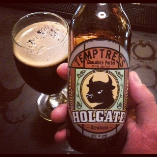 Holgate Temptress Chocolate Porter. Forget dessert because this little ...
