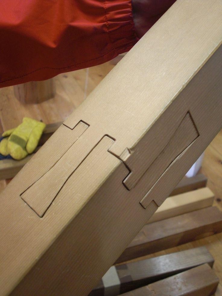 japanese wood joinery Wooden Wonders Pinterest