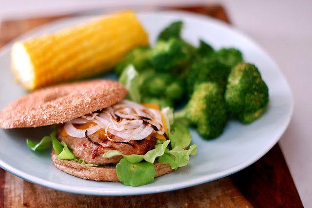 Juicy Turkey-Cheddar Burgers Recipes — Dishmaps