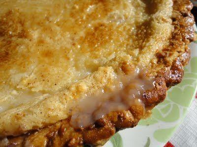 Hoosier Sugar Cream Pie. | CAKES AND PIES,TARTS | Pinterest